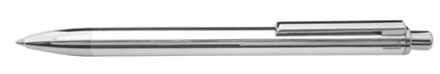 London Sterling Silver Ballpoint Pen Polished Smooth Sterling Silver